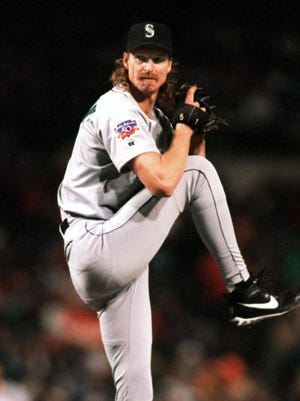 Randy Johnson is a 303-game winner.