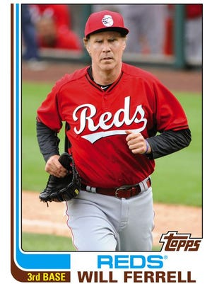 Will Ferrell's 2015 Topps Archives card.