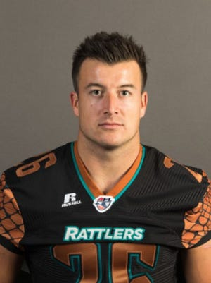 The Arena Football League is the farthest thing from the NFL, but Rattlers kick returner A.J. Cruz is the latest to get a shot.