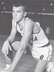 Louie Dampier shown in 1963 in his Indiana All-Star