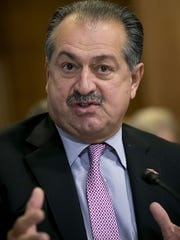 Andrew N. Liveris, the CEO of The Dow Chemical Co.