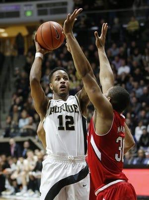 Purdue's Vince Edwards has been a versatile scorer since arriving in West Lafayette.