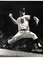 Denny McLain's lawyer, Barry Powers, sued the Tigers claiming he was unlawfully arrested after a game in 2011. He settled the case for a confidential settlement in March. Pictured here is the McClain, who led the Tigers to the World Series in 1968.