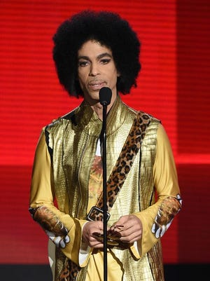 """April 21, 2016: Prince, a 2004 Rock Hall of Fame inductee, won multiple Grammys and a best-original-song Oscar for """"Purple Rain"""" in 1985. His long list of hit songs includes """"1999,"""" """"Little Red Corvette,"""" """"When Doves Cry,"""" """"Let's Go Crazy"""" and """"Kiss."""""""