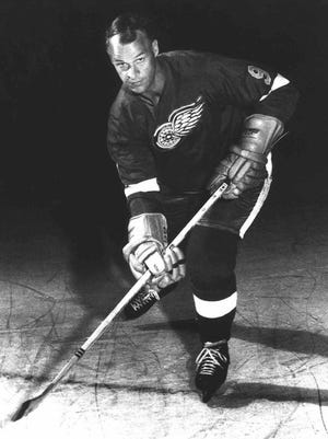 Gordie Howe, shown in 1967, played 26 NHL seasons and another six in the World Hockey Association.