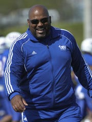Tennessee State coach Rod Reed is confident that no one will ever break the career record 406 tackles he made when he was a middle linebacker for the Tigers (1985-88).