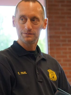 Redford Township Police Chief Eric Pahl