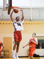 IU commit Clifton Moore is averaging nearly 20 points and 10 rebounds a game as a senior.