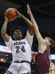 Missouri State senior Alize Johnson had 24 points and 20 rebounds last week against Northern Iowa. It was his second 20/20 game of the season.