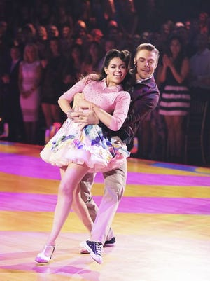 Bethany Mota and Derek Hough compete for the last time on season 19 of 'Dancing With the Stars.""