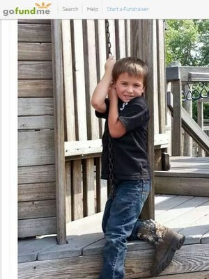 Screenshot of Logan T. Meyer, a 7-year-old boy killed by a Rottweiler on Friday night.