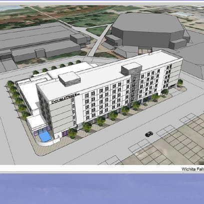 Hotel, conference room project moves into next phase