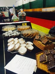 Some of the sweets at GermanFest