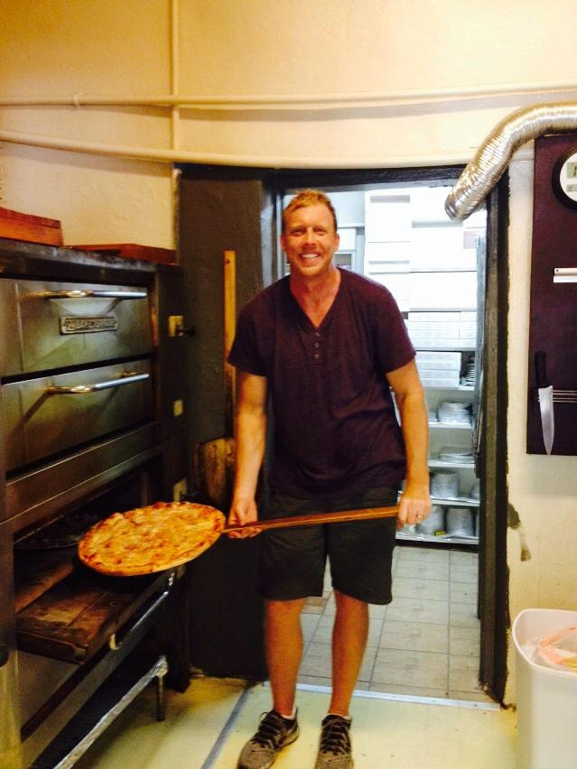 Joel Moroney opened McGregor Pizza & Deli Co. in Fort