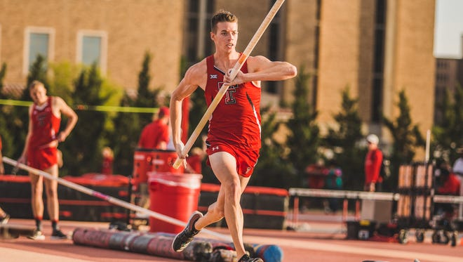 Texas Tech junior pole vaulter Drew McMichael, an Evangelical Christian School alum, qualified for the NCAA Track and Field Championships in Eugene, Oregon for the first time. He'll compete in the event on Wednesday.