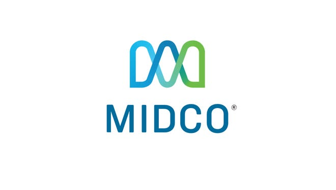Logo of Midcontinent Communications, or Midco