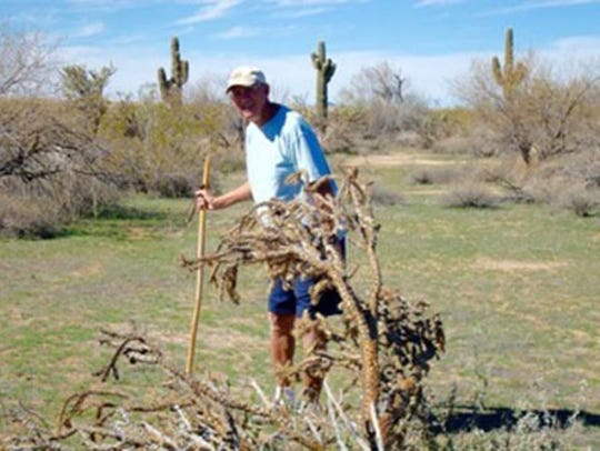 John Hedetniemi, 78, John Hedetniemi would hike in the Sonoran