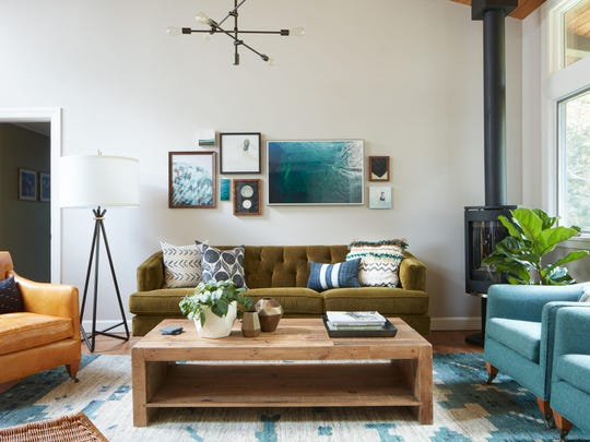 Massachusetts-based interior designer Kristina Crestin uses plants for that perfect final touch to bring warmth and beauty to a room without over-accessorizing.