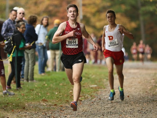 Patrick Donnelly, of Don Bosco Prep, captures first