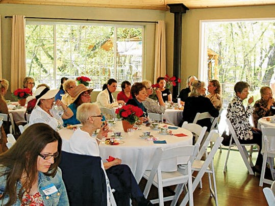 The FRWLC 2015 Membership Tea was well attended and the ladies enjoyed beautiful weather and surroundings at Sanctuary on the River.