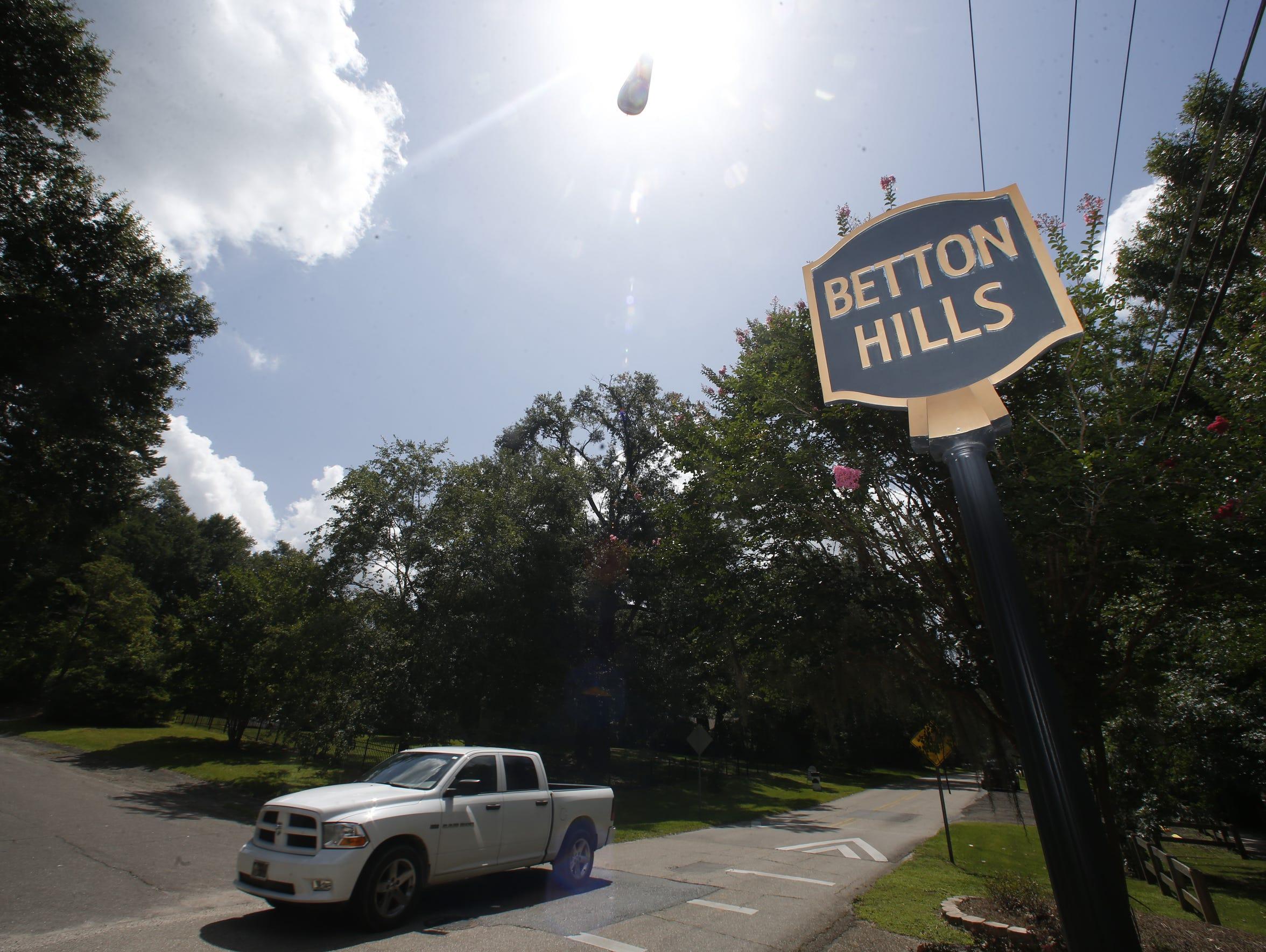 The Betton Hills neighborhood was home to  Florida
