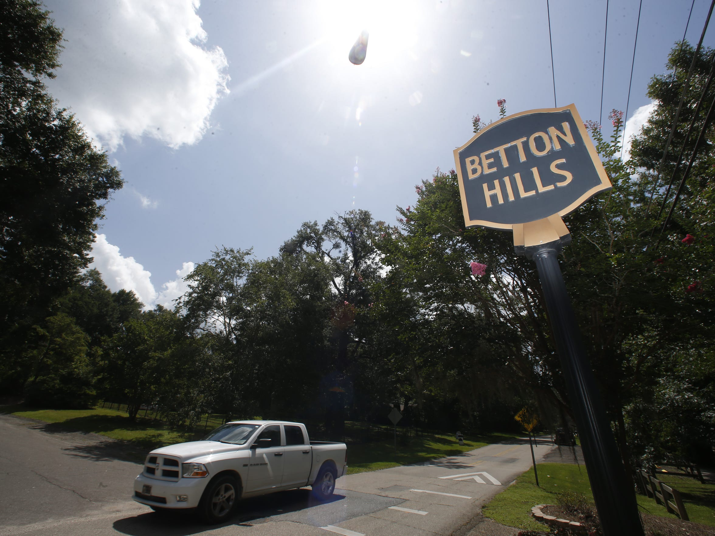 The Betton Hills neighborhood was home to  Florida