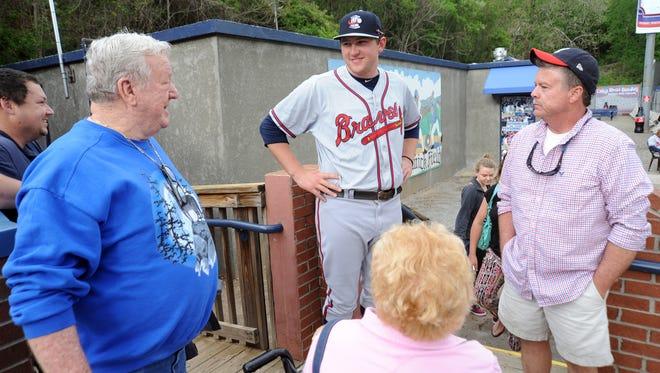 Tuscola alum Tyler Brosius now pitches in the Atlanta Braves organization.