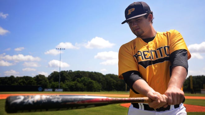 Trenton Peabody's Matthew Pickard helped lead the Golden Tide to a top four finish in Class A.