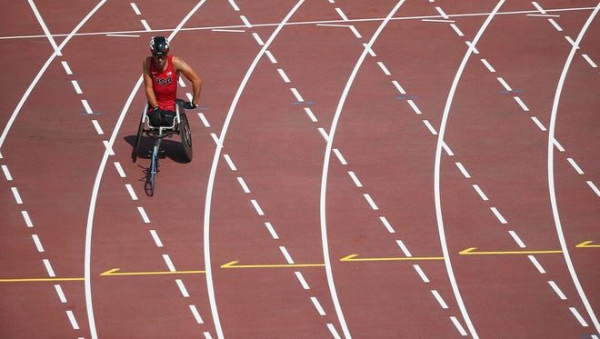 Paralympics are being held in Rio de Janeiro.