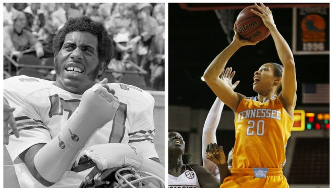 Dennis Harrison was an All-SEC defensive lineman at Vanderbilt in the 1970s and later assistant coach, and played more than a decade in the NFL, including a Pro Bowl season and Super Bowl appearance with the Eagles. His daughter, Isabelle, has become a star for the Tennessee basketball team after a standout career at Hillsboro High. She earned SEC tournament MVP last season and recently garnered preseason All-American accolades.
