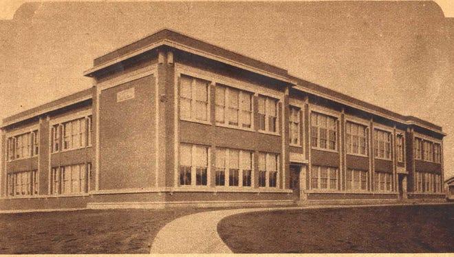 Franklin Elementary, circa 1926.