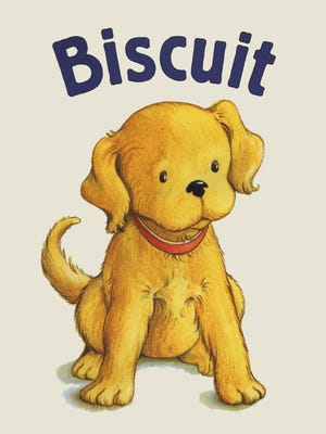 """Biscuit, The Little Yellow Puppy"""
