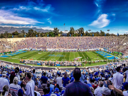The Rose Bowl opened in 1923. The Cincinnati Bearcats will open their 2018 season Saturday against UCLA at the storied venue in Pasadena, California.