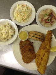 The restaurant's history goes back even further than the name and owners themselves with some recipes such as the coleslaw and potato salad that come with the Friday Fish Fry.