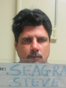 Steve Seagraves is shown in a booking photo from a 2015 arrest.