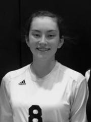 Clara Lombardo, Pawling volleyball