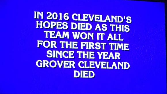"""A question from a baseball-themed category in """"Jeopardy!"""""""