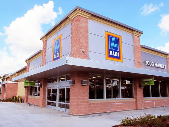 The first Aldi grocery store in Collier County opened