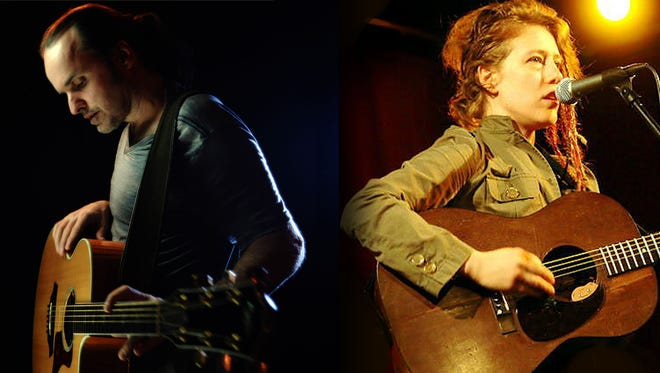 Guitarists Michael Kelsey and Kelly Zullo will play Saturday at Lafayette Brewing Company.