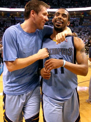 April 29, 2014 -  Memphis Grizzlies guard Beno Udrih