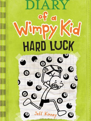 The cover has arrived for 'Diary of a Wimpy Kid: Hard Luck'!
