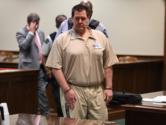 Todd Kohlhepp appears in the courtroom at the Spartanburg