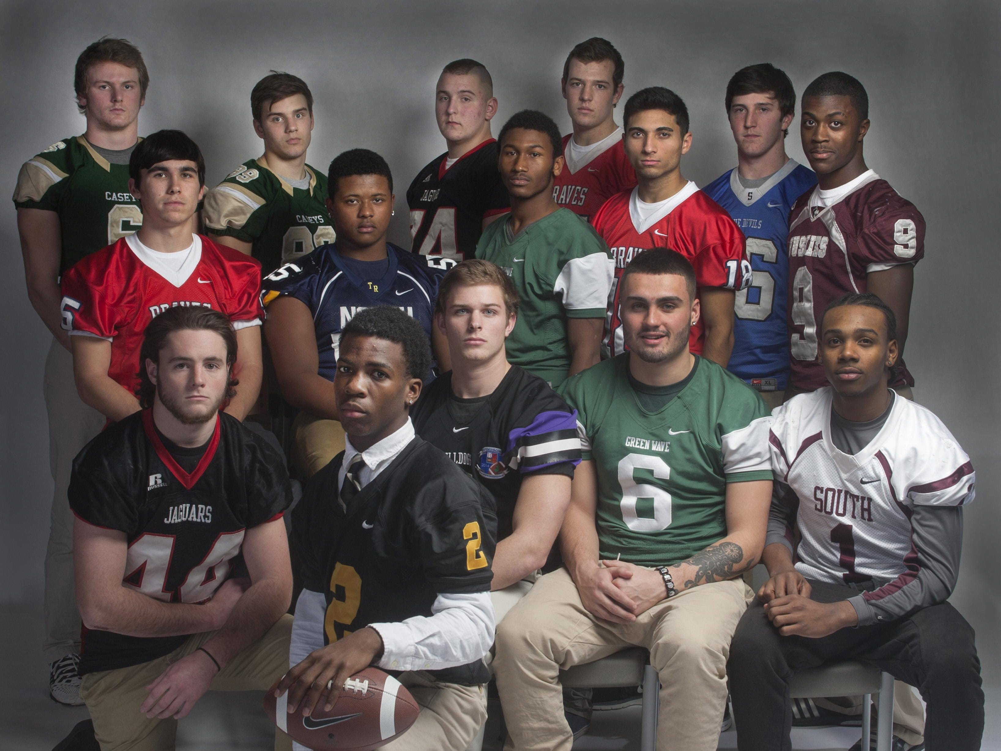 The 2014 Asbury Park Press All-Shore Football Defensive Team.