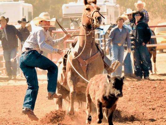 Courtesy Photo   Derek Runyon will see action in tie-down roping and team roping during the International Youth Finals Rodeo that will take place in Shawnee, Okla., July 5-10.