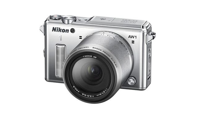 The Nikon's new adventure camera is the first interchangeable lens camera to be waterproof, shockproof and freezeproof. It can take a beating.