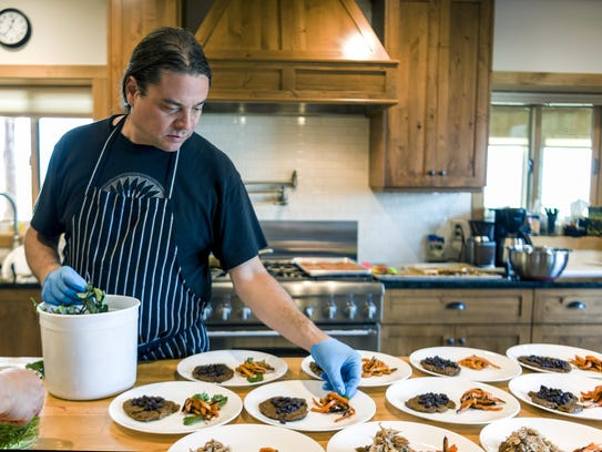 Minnesota chef Sean Sherman will host a talk and cooking