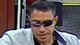 Yonkers police are looking for this man who reportedly robbed a Chase bank on Nepperhan Avenue on Monday, Aug. 1, 2016.
