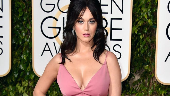 Katy Perry, seen at the Golden Globe Awards in January, has done endorsements for Pepsi and Popchips.