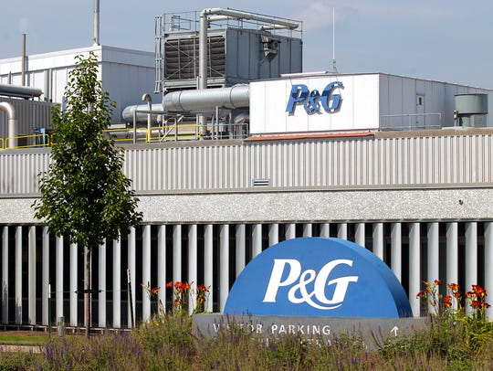 Procter and Gamble's facility on Lower Muscatine Road