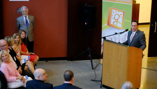 Dr. Richard Goodstein, Dean of College of Architecture, Arts and Humanities Clemson University, talks about the partnership with the Fine Arts Center in Greenville.
